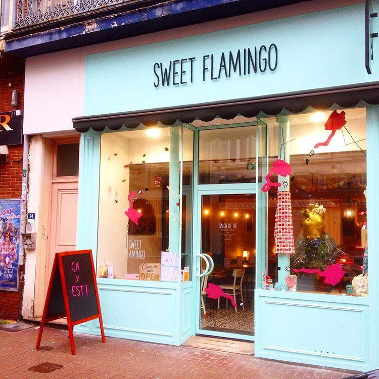 Sweet Flamingo, salon de thé à Lille