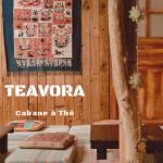 Salon de thé Teavora Marseille, les pieds dans le sable