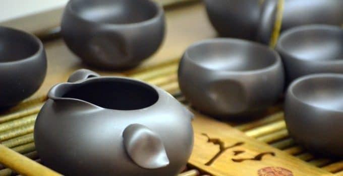 Bateau à thé, le plateau à thé traditionnel du gongfu cha
