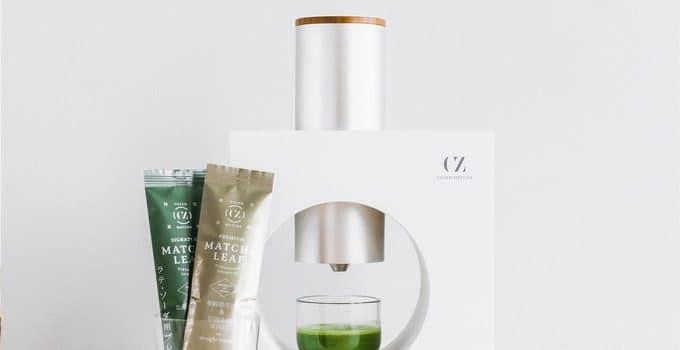Cuzen Matcha, la machine à thé pour le matcha