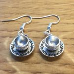 idée de cadeau bijou boucles d'oreilles thé