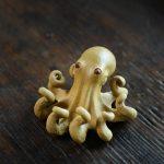 figurine tea pet pieuvre