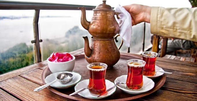comment préparer thé turc