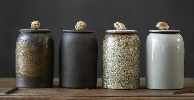 boite à thé céramique japonaise